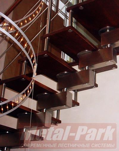 Изготовление дизайнерских модульных лестниц