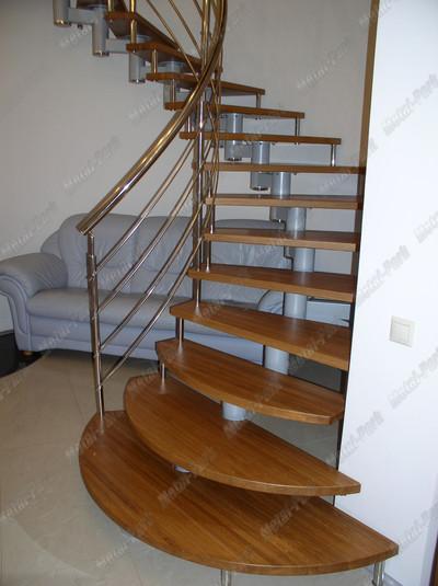 Спиральная модульная лестница